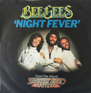 "Bee Gees ‎- Night Fever (7"") (G-VG/VG-)"